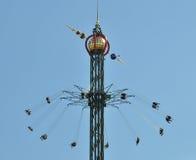 Parque de atracciones de Tivoli Fotos de archivo libres de regalías