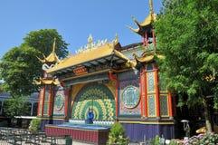 Parque de atracciones de Tivoli Imagenes de archivo