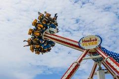 Parque de atracciones del paseo marítimo de Atlantic City Fotografía de archivo