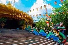 Parque de atracciones en la ciudad de Ho Chi Minh Suoi Tien asia Vietnam Imágenes de archivo libres de regalías