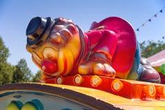 Parque de atracciones para los niños Imagen de archivo