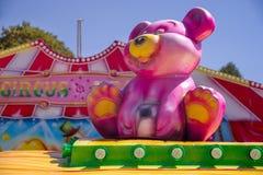 Parque de atracciones para los niños Imágenes de archivo libres de regalías