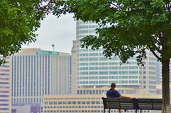 Parque de Baltimore Foto de archivo libre de regalías