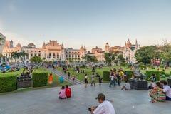 Parque de Bandula, Yangoon, Rangoon, Myanmar Imagenes de archivo