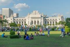 Parque de Bandula, Yangoon, Rangoon, Myanmar Foto de archivo