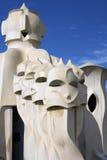 Parque de Barcelona Imagen de archivo