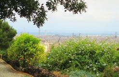 Parque de Barcelona Guell foto de archivo