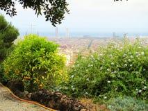 Parque de Barcelona Guell foto de archivo libre de regalías