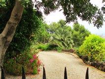 Parque de Barcelona Guell imágenes de archivo libres de regalías
