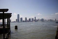 Parque de batería de Jersey City Imágenes de archivo libres de regalías