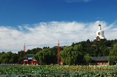 Parque de Beihai de beijing Imagens de Stock