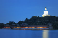 Parque de Beihai do Pequim, Imagens de Stock