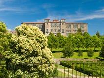 Parque de Belvis in Santiago de Compostela Royalty Free Stock Photo