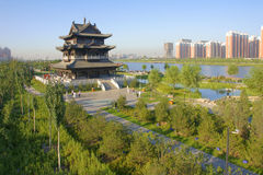 Parque de Binhe fotografia de stock royalty free