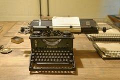 Parque de Bletchley, máquina de escribir del vintage imagen de archivo libre de regalías