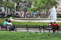 Parque de Boliches Green Imagem de Stock