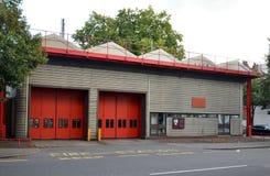 parque de bomberos del norte Londres de Kensington imagen de archivo