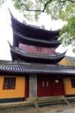 Parque de bomberos del templo en área escénica de la isla de Putuoshan, adobe rgb del pujichansi Imagenes de archivo