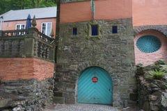 Parque de bomberos de Portmeirion situado en País de Gales del norte imagen de archivo libre de regalías