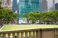 Parque de Bryant, Nueva York Imágenes de archivo libres de regalías