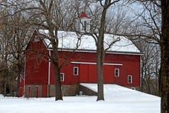 Parque de Bucks County no inverno fotos de stock royalty free