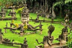 Parque de Buddha, laos Imagens de Stock