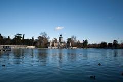Parque DE Buen retiro Madrid stock foto