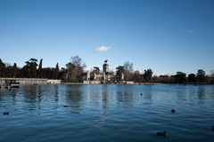 Parque de Buen retiro Madrid Stock Photo