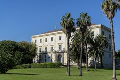 Parque de Capodimonte, Nápoles, Itália imagens de stock royalty free