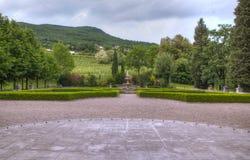 Parque de castillo de Kromberk Imagen de archivo libre de regalías