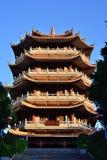 Parque de Changan, pavilhão de Changli imagem de stock