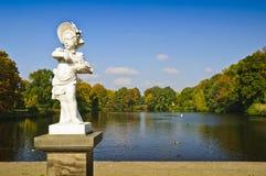 Parque de Charlottenburg en Berlín fotos de archivo libres de regalías