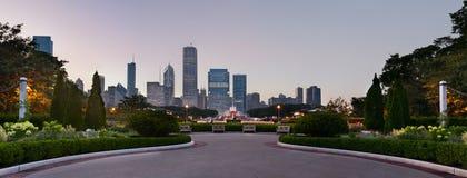 Parque de Chicago Grant Imagen de archivo