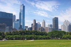 Parque de Chicago Grant imagenes de archivo