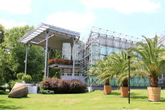 Parque de Chopin em Gliwice Foto de Stock