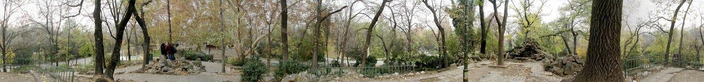 Parque de Cismigiu 360 grados de panorama Imagenes de archivo
