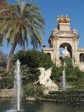 Parque de Ciutadella Imagenes de archivo