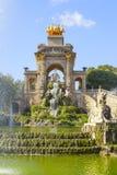 Parque de Ciutadella en Barcelona Fotografía de archivo libre de regalías