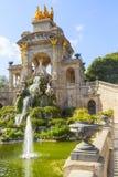 Parque de Ciutadella en Barcelona Fotos de archivo