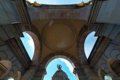 Parque de Ciutadella en Barcelona Fotografía de archivo
