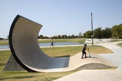 Parque de comunidad de nordeste Frisco TX Imagen de archivo