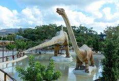 Parque de Dinosur en Creta Foto de archivo
