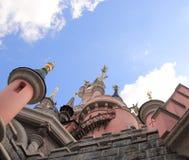 Parque de Disneylandya cerca de París Foto de archivo