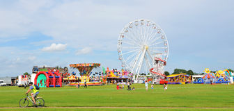 Parque de diversões Fotos de Stock Royalty Free
