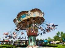 Parque de diversões Imagem de Stock Royalty Free