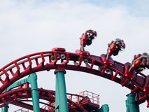 Parque de diversões Fotografia de Stock