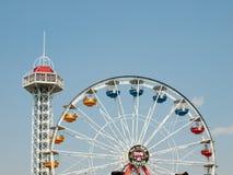 Parque de diversões Foto de Stock Royalty Free