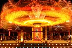 Parque de diversões, atração imagens de stock