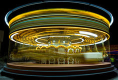 Parque de diversões. Carrossel. Imagem de Stock Royalty Free