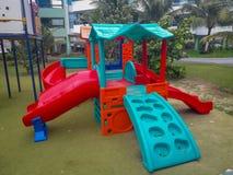 Parque de diversões das crianças em Porto de Galinhas, Brasil fotos de stock